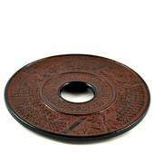 MAOCI Gusseisen Untersetzer Kitami (weinrot), Ø 17cm - Vorschau