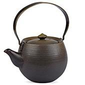 MAOCI Keramik Teekanne silber-grau, ca. 380ml