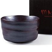 Matcha-Schale 400ml im Geschenkkarton, dunkel