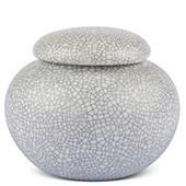 Porzellan Teedose grau gsprenkelt, 440ml