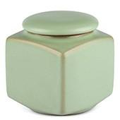 Porzellan Teedose pastelgrün, 200ml
