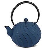 MAOCI Gusseisen-Teekanne Kiyoko (nachtblau) - 1,0L