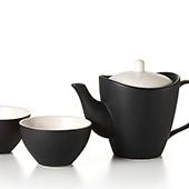 Keramik Teekanne 'Yuzo' (450ml) mit 2 Cups