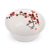 Teeschale rote Blütenzweige 130ml - MAOCI