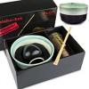 Matcha Geschenk-Set Premium (400ml Schale. Box: Geschenkkarton)