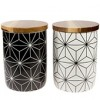 Teedose 'Kaleidoskop', 200g, weiß oder schwarz